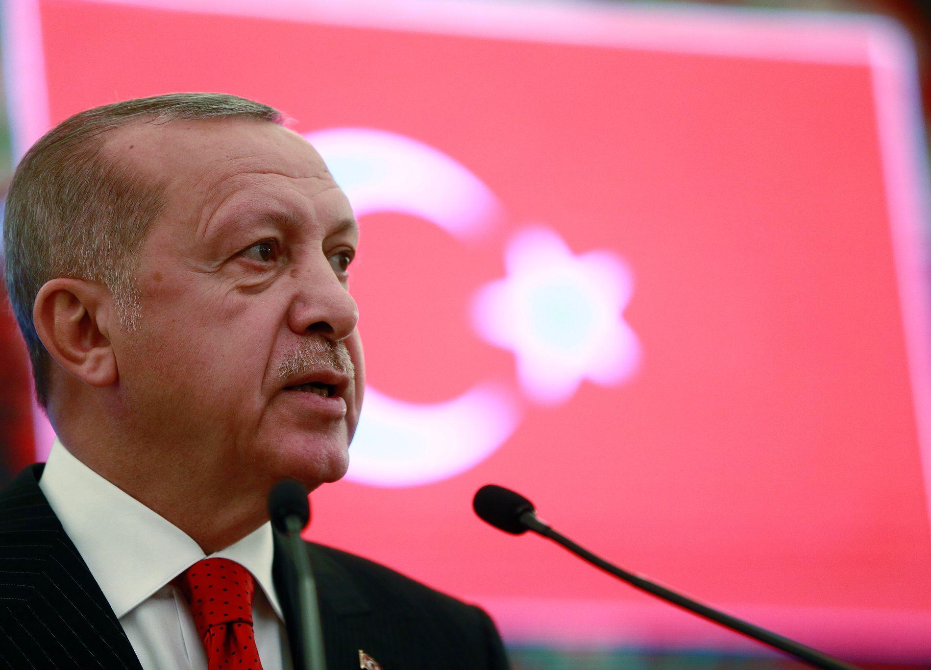 FÅR OMKAMP: President Recep Tayyip Erdogan nekter å godta at hans parti tapte valget i Istanbul.