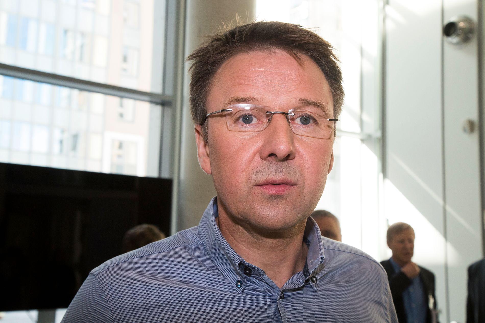 DUGNAD: Lars Petter Bartnes i Norges Bondelag ønsker at svinebønder går sammen for å redusere svineproduksjonen.