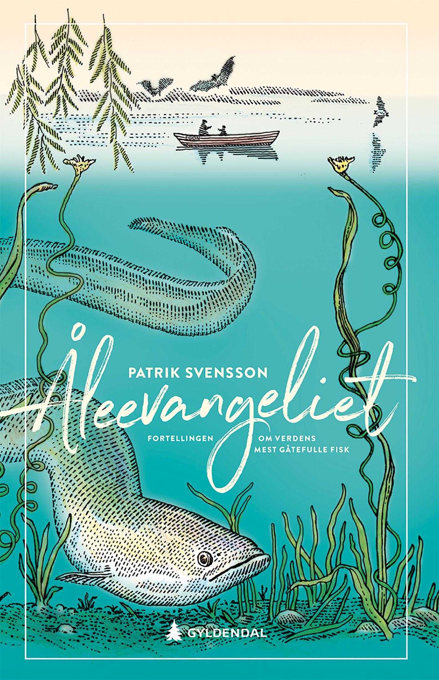 ÅRETS BOKBRANSJE-SNAKKIS? Den svenske boken om ål ble solgt til 33 land før den kom ut i Sverige nå nylig.