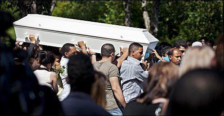 BLE 19: Ismail Haji Ahmed ble bare 19 år. Han ble begravd som nummer to av Utøya-ofrene i fjor sommer. I dag skal hans obduksjonsrapport opp i retten. Foto: