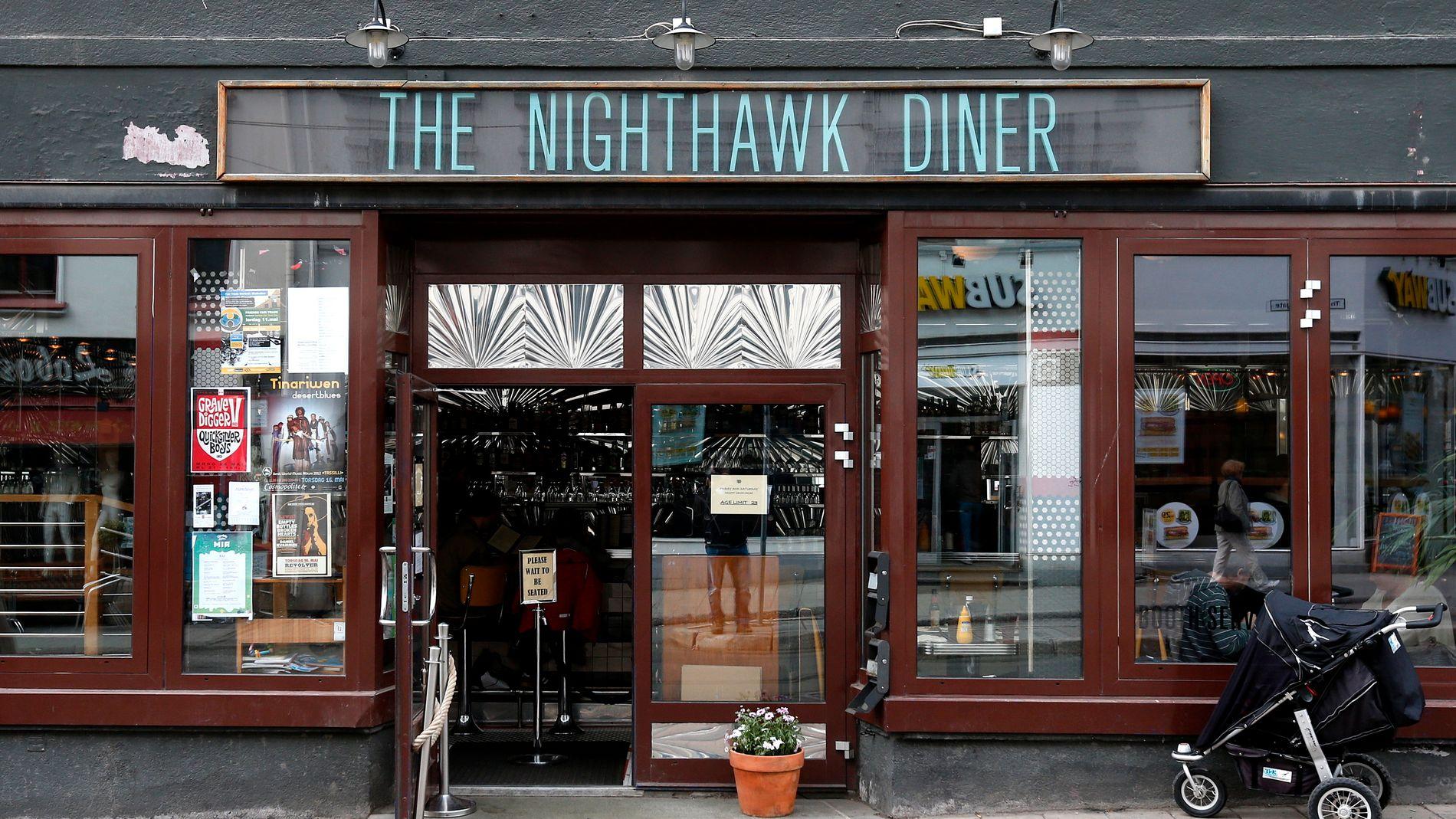 Annonse tyder på at The Nighthawk Diner skal selges igjen