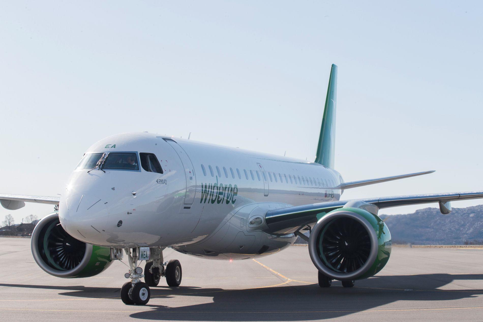 PROBLEMER: En teknisk oppdatering har skapt problemer for en stor del av Widerøes flyflåte søndag kveld.