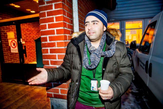 TURISTVISUM: Shady Majed (30) forteller at han utga seg for å være vinterturist overfor russiske myndigheter.