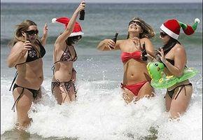 Våt jul i Sydney