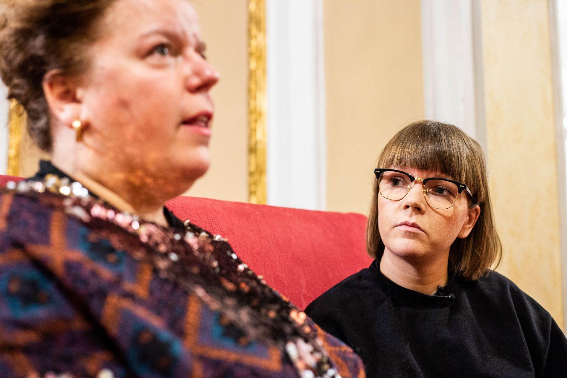 THE KÅSS FURUSETHS: Else og Cecilie Ramona Kåss Furuseth i «Sinnsykt».