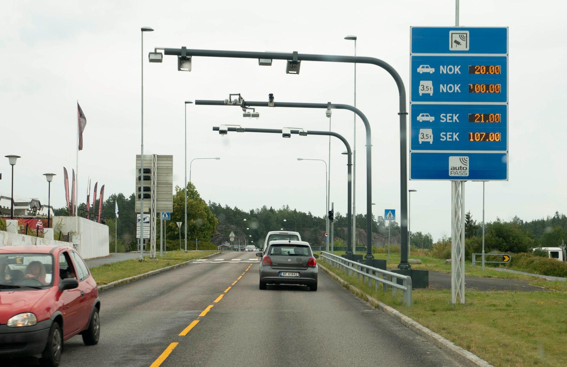 STORE FORSKJELLER: Mens Den nye Svinesundsforbindelsen har en effektiv rente på 1,11 prosent, så har er renten for prosjektet Tverlandet-Godøystraumen 5,58 prosent.