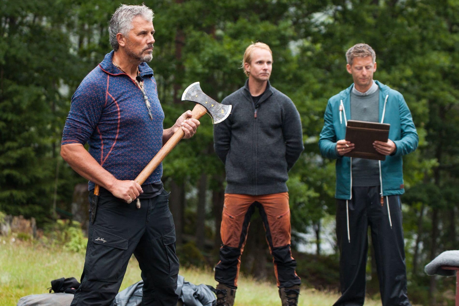 TAPTE: Jarl Goli tapte tvekampen mot Petter Pilgaard i søndagens episode av «Farmen kjendis».