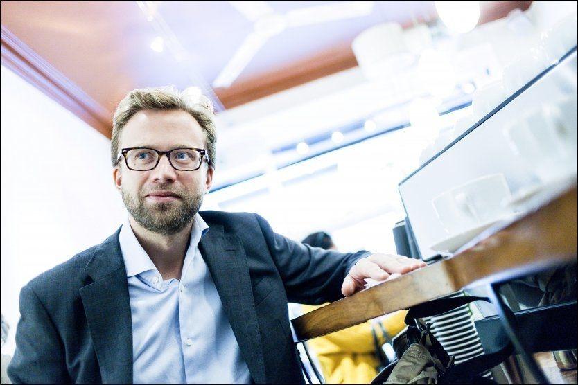BLE IKKE STATSRÅD: Nikolai Astrup (H) har vært partiets energi- og miljøpolitiske talsmann de siste årene, men fikk ikke jobben som miljøvernminister. Foto: KRISTER SØRBØ/VG