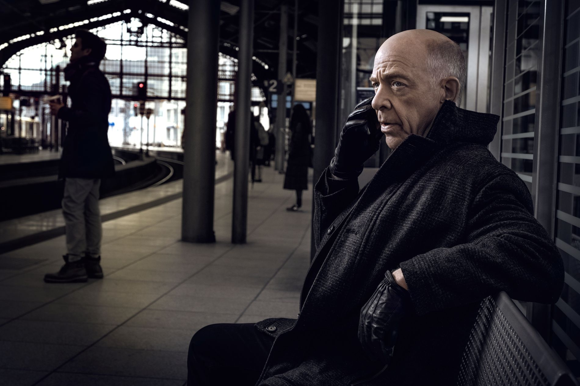 OSCAR-VINNER: J. K. Simmons som Howard Silk i «Counterpart».