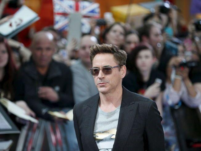 TJENER GODT: Robert Downey Jr. beholder førsteplassen på listen over Hollywoods best betalte skuespillere for tredje året på rad.