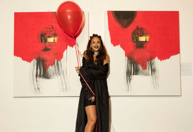 LIKER NORSKE LÅTER: Rihanna. Foto: UNIVERSAL