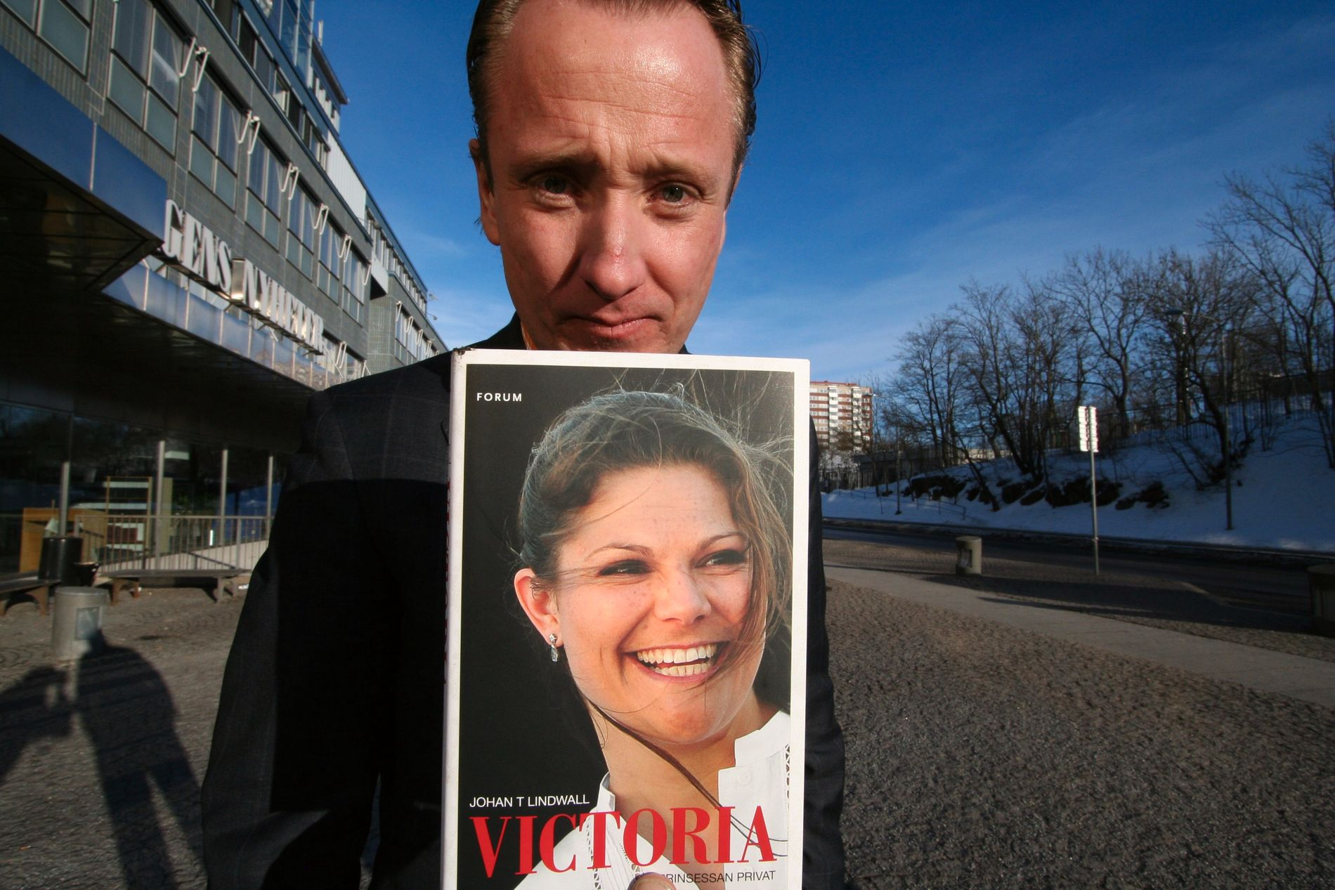 KONGEHUSEKSPERT: Hoffreporter Johan T. Lindwall har tidligere skrevet bok om svenske prinsesse Victoria.