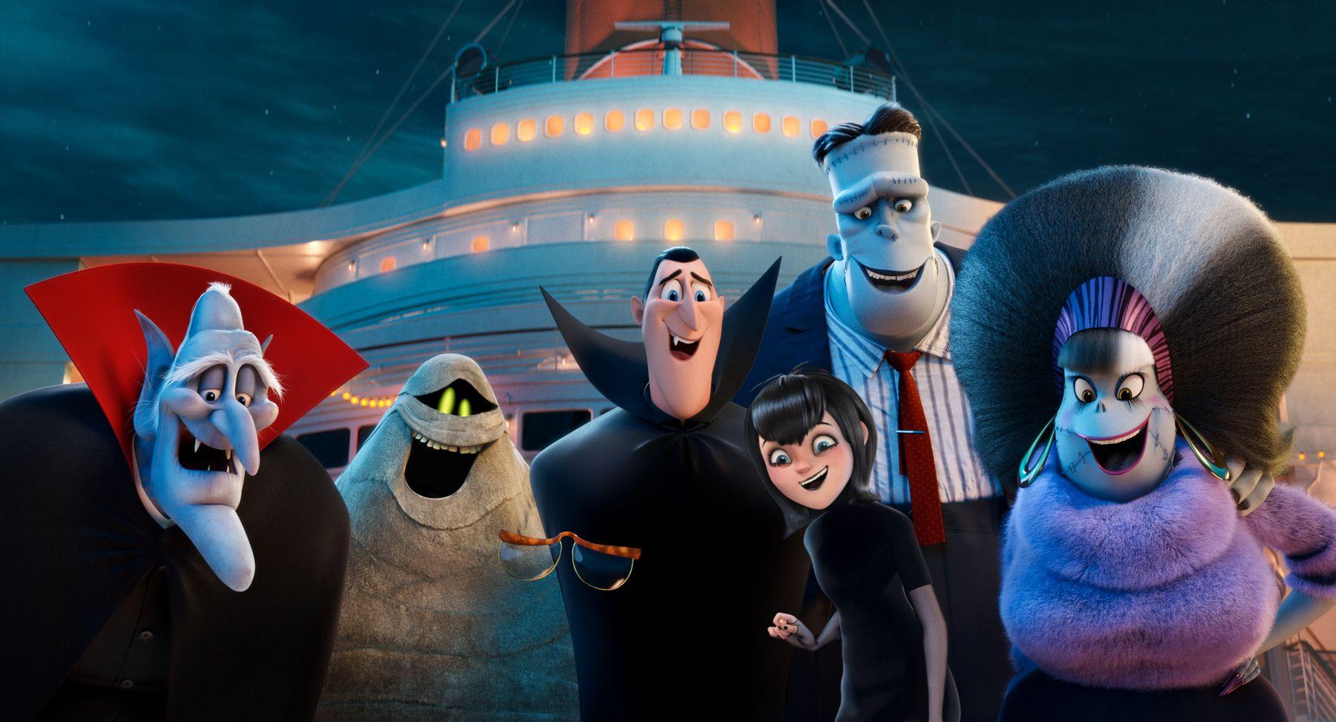 MONSTERFABRIKKEN: Dracula og vennene hans på cruiseferie i «Hotell Transylvania 3: Monsterferie».