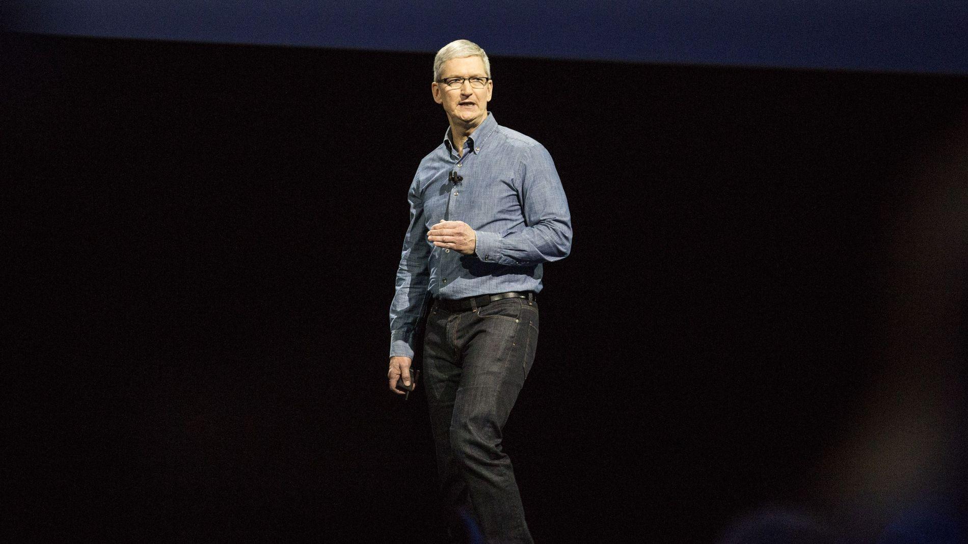 STÅR PÅ SITT: Toppsjef Tim Cook i Apple varsler at Apple vil anke EU-kommisjonens baksmellvarsel til Europadomstolen.