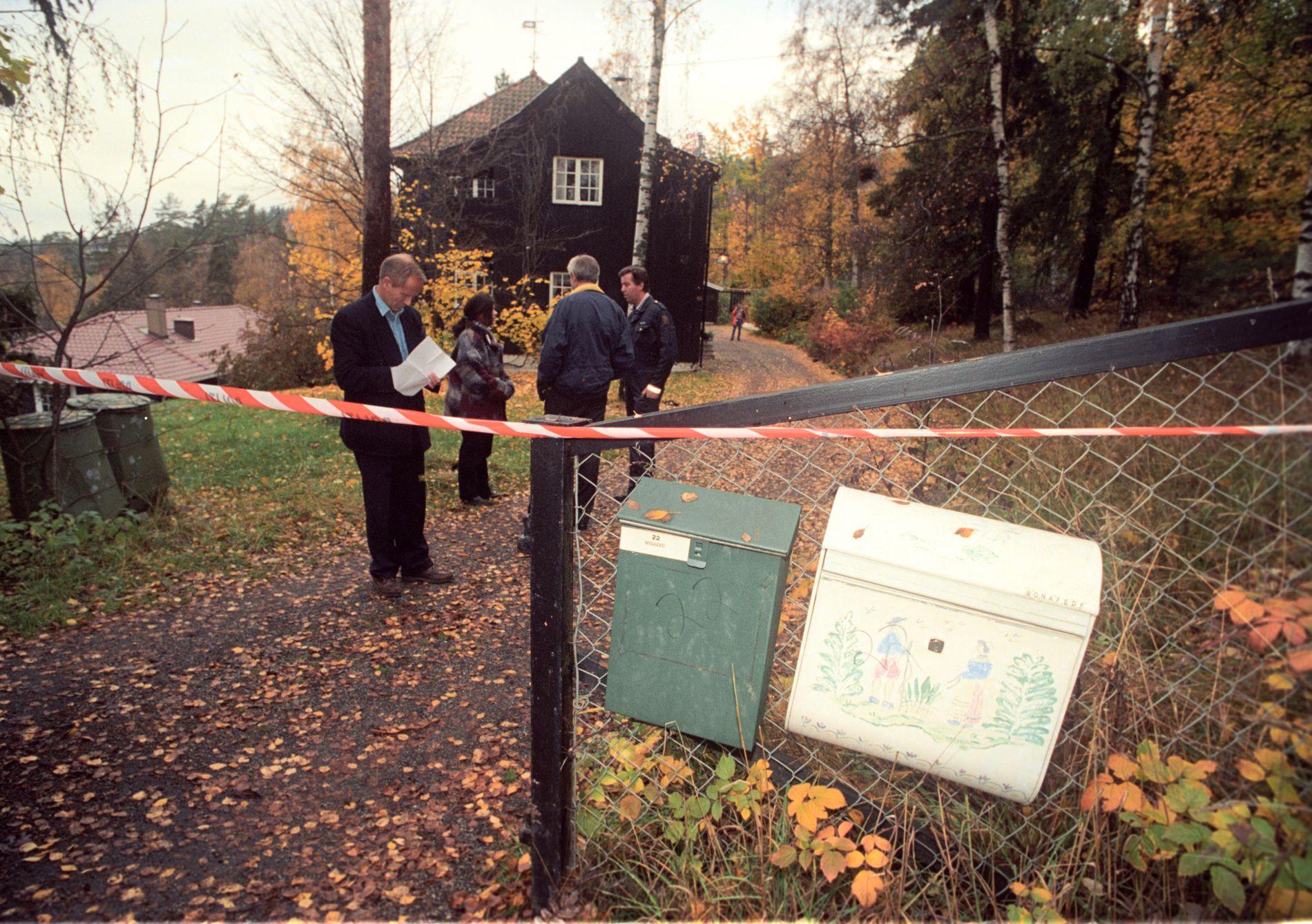 Åstedet: Her ble William Nygaard skutt, i Dagaliveien i Oslo