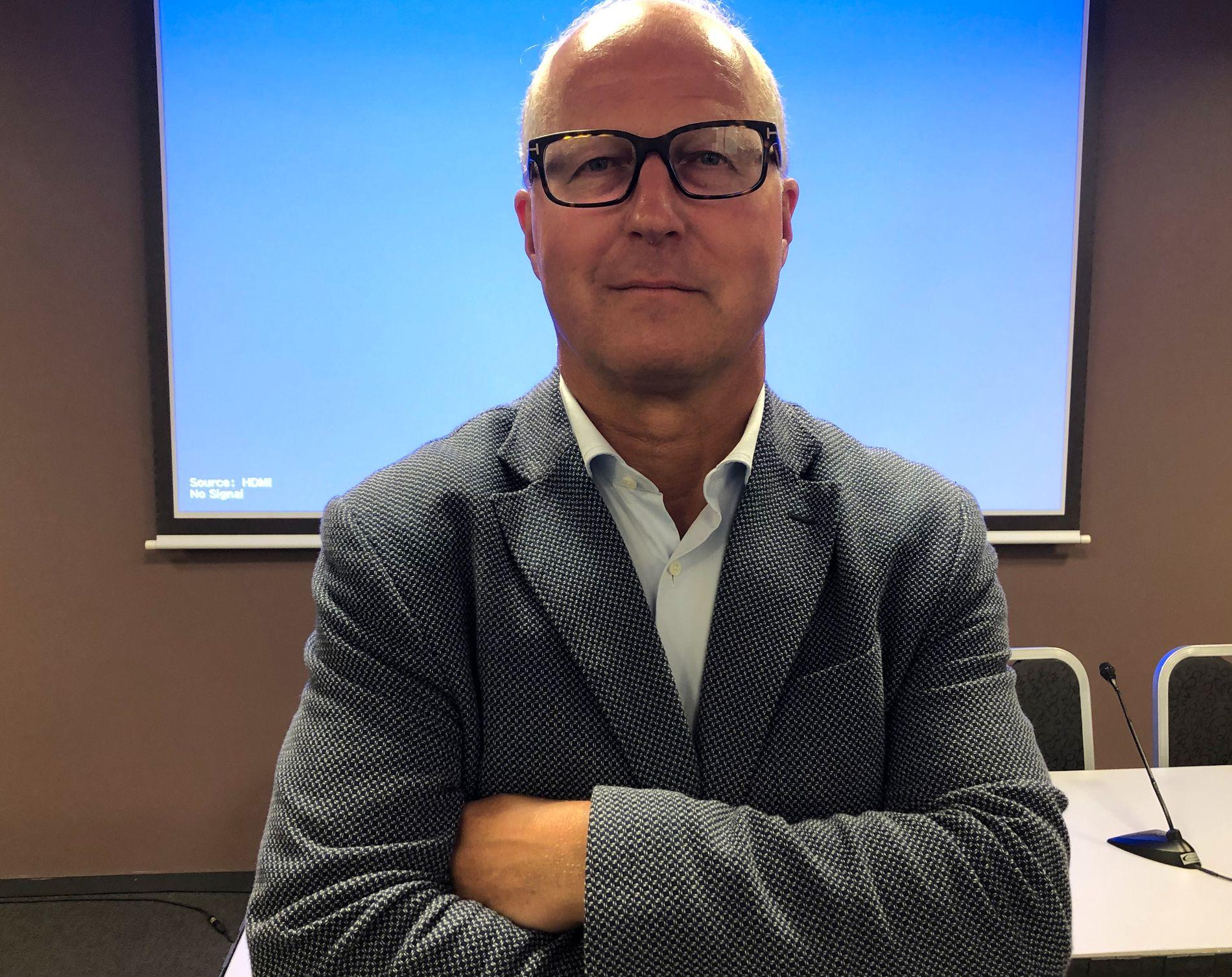 BYGGER SAMFERDSEL: Terje Rognlien er sekretariatsleder for Oslopakke 3, som innebærer bompengefinansiering og utbygging av store samferdselstiltak som ny T-banetunnel, Fornebu-bane og ny E18 i Bærum og Asker.