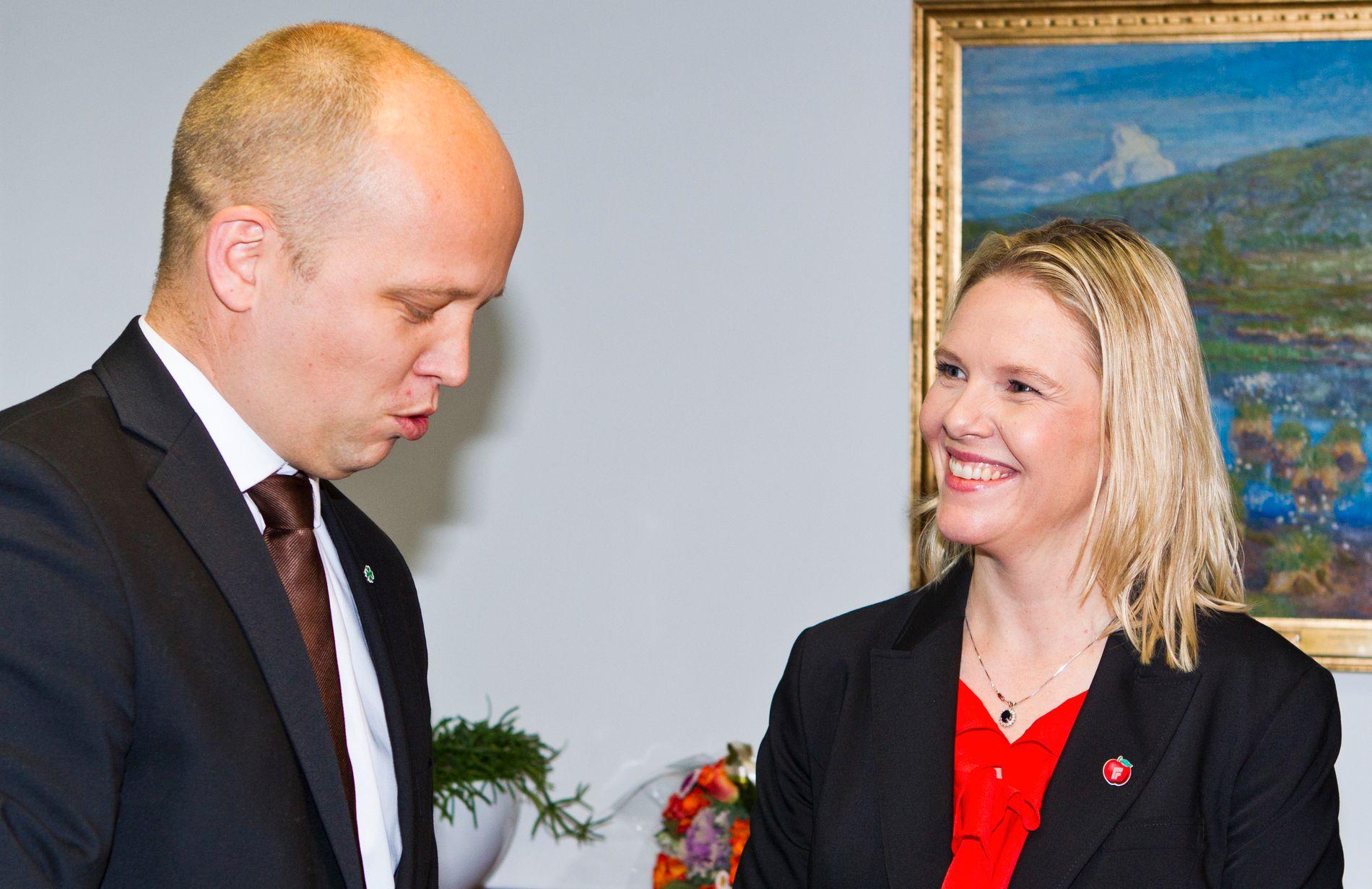 POPULISME PÅ NORSK: – Populisme på norsk er retorisk moderat, men både Vedum og Listhaug må akseptere at merkelappen «populist» er kommet for å bli, skriver kronikkforfatterne.