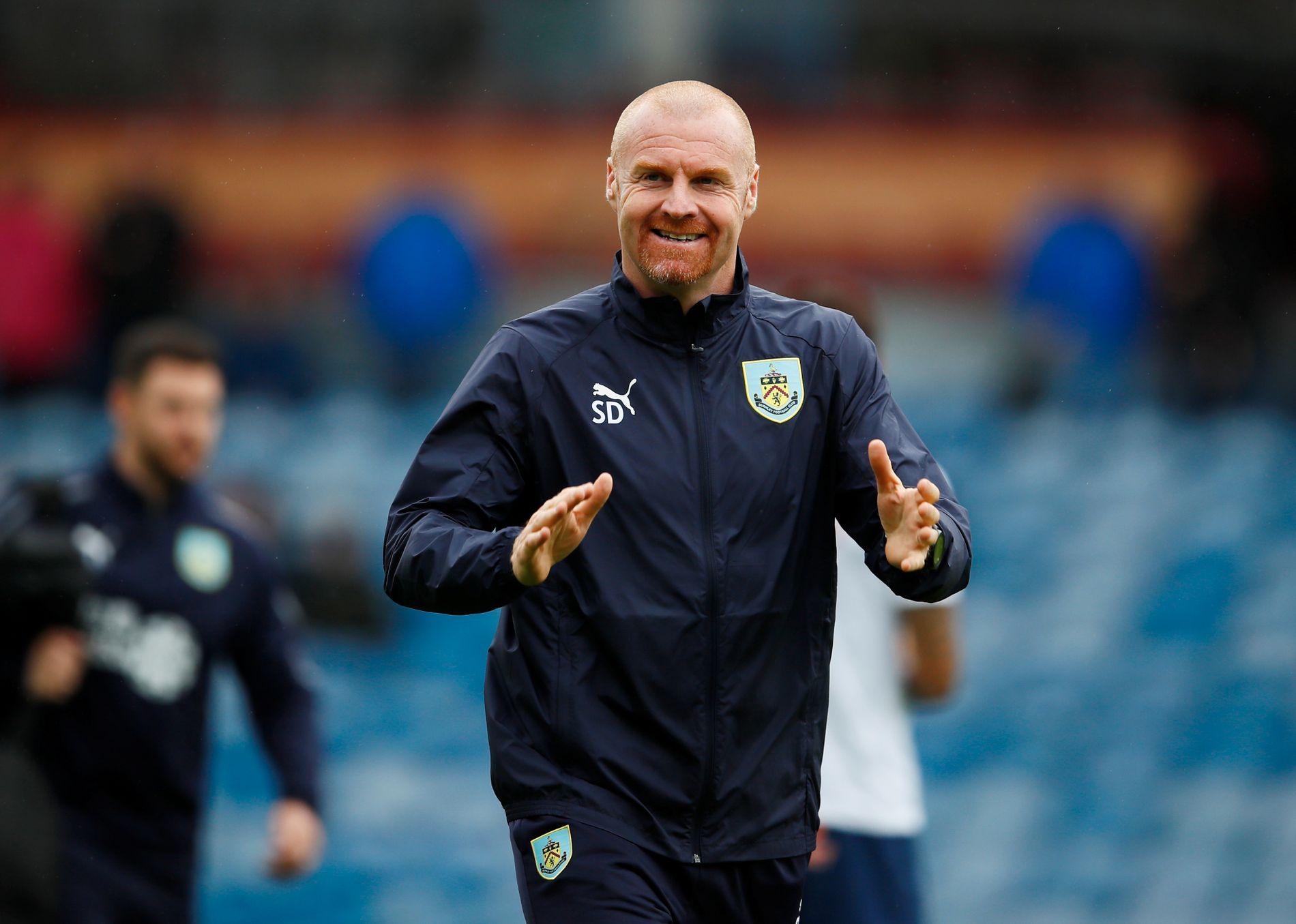 IMPONERER: Burnley-manager Sean Dyche ledet klubben til en imponerende syvendeplass forrige sesong.
