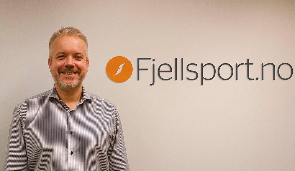 NETTHANDELKONGE: Eric Sandtrø, daglig leder i Fjellsport AS, har lang erfaring fra netthandel og tror at veksten bare vil fortsette i årene fremover.