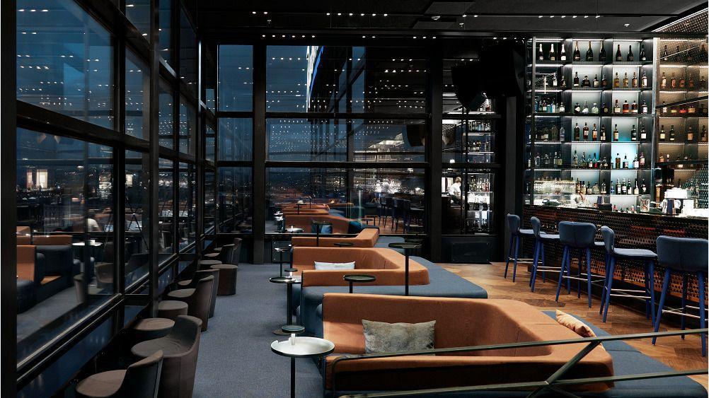 TOPPBAREN: Summit Bar er designet av arkitektur- og designselskapet Snøhetta.