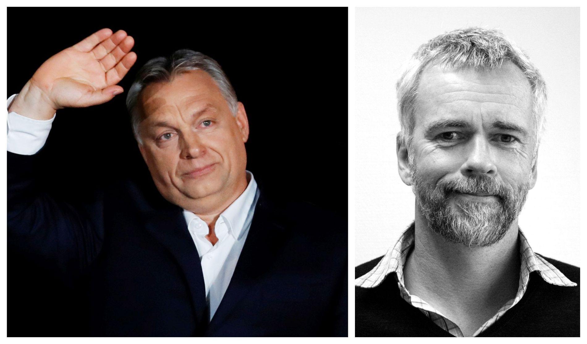 ILLIBERAL: – Er virkelig høyresiden, inkludert den liberale, i ferd med å normalisere illiberale ledere som Ungarns Vitor Orbán, spør Bård Larsen.