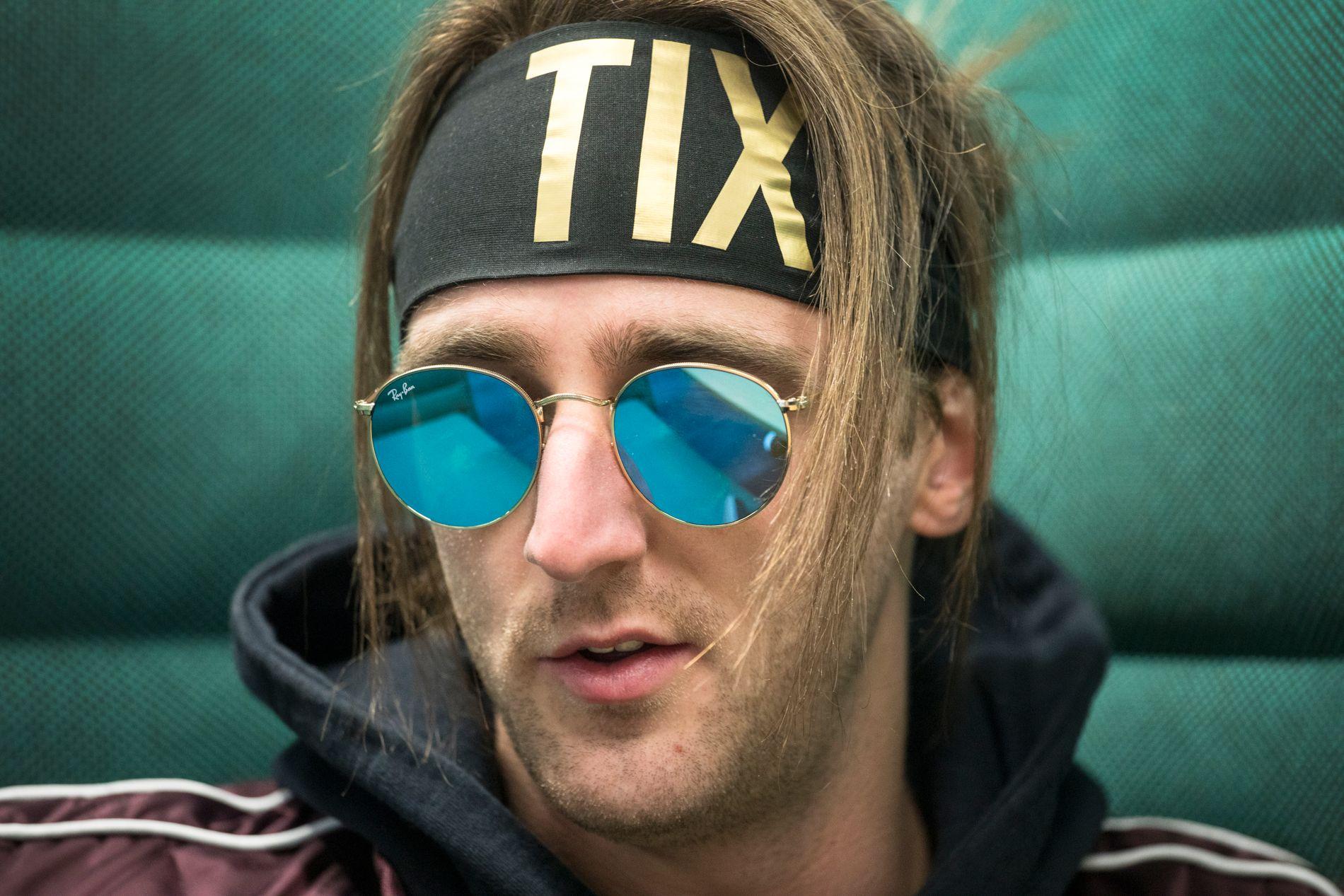 HITMAKER: Andreas «TIX» Haukeland, her under et  intervju med VG i april i år.