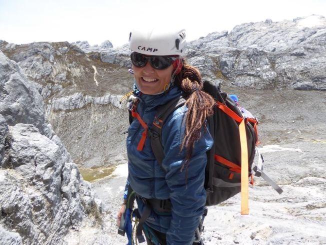 OVERLEVDE: Vibeke Sefland (41) opplevde noen dramatiske døgn når skredene gikk på Everest sørside.