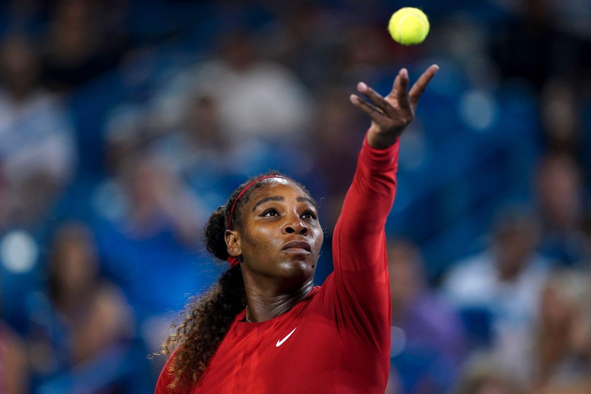 ÅPNER OPP: Serena Williams åpner opp om fødselsdepresjon og å se at sin søsters drapsmann var løslatt på prøve.