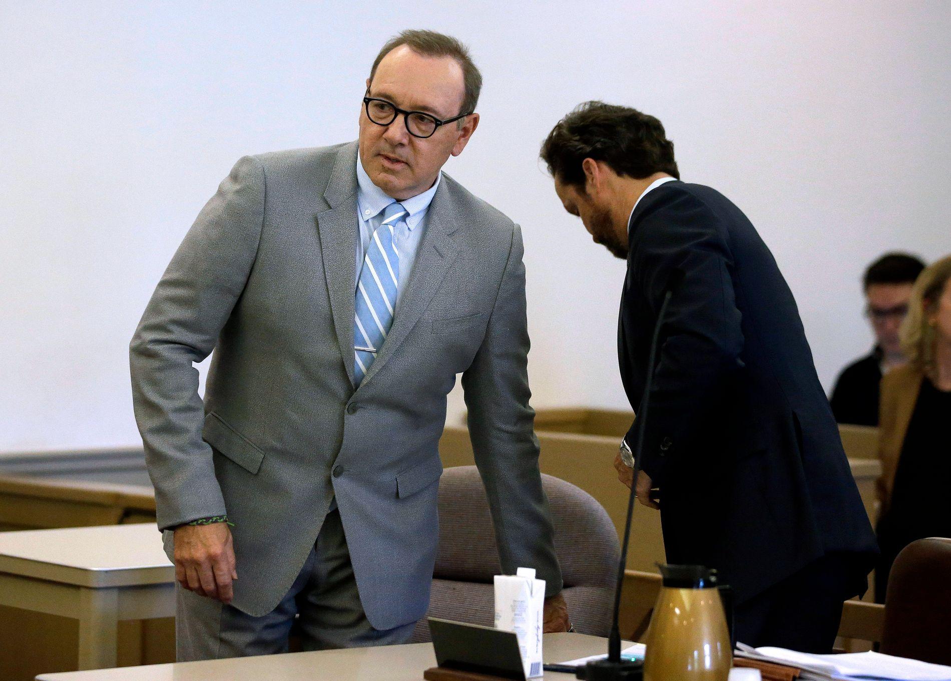 FRAFALT: Det blir ingen rettssak mot Kevin Spacey etter at påtalemyndigheten har droppet saken mot ham.