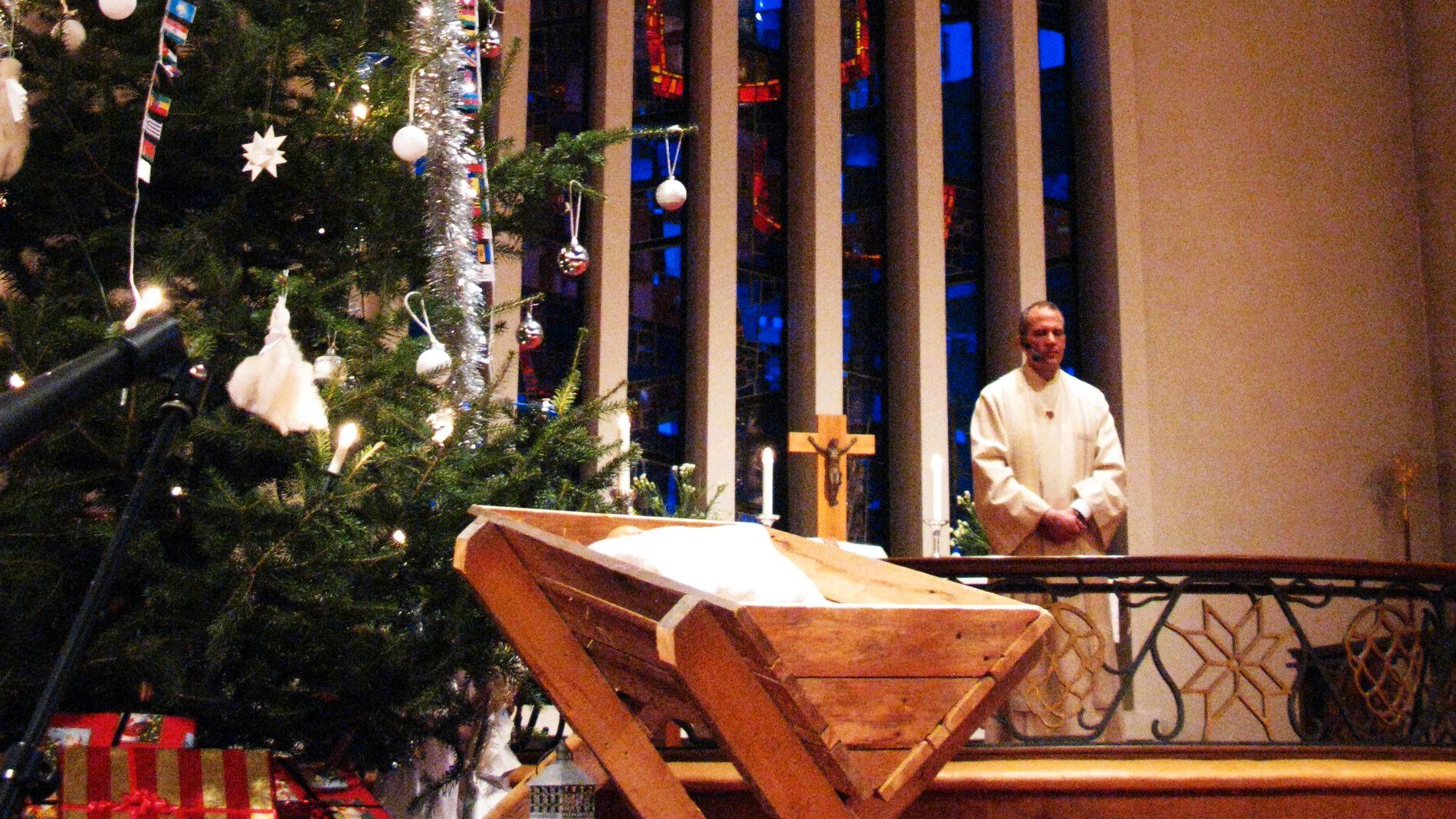 Færre elever på julegudstjeneste