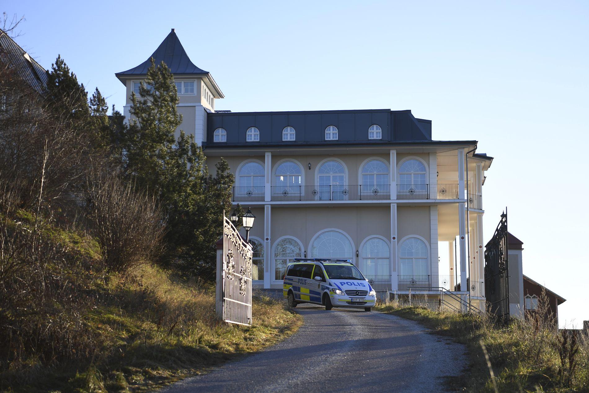 FORHANDLINGSSTEDET: Fredssamtalene skal holdes ved Johannesberg slott i Rimbo noen mil nord for Stockholm.