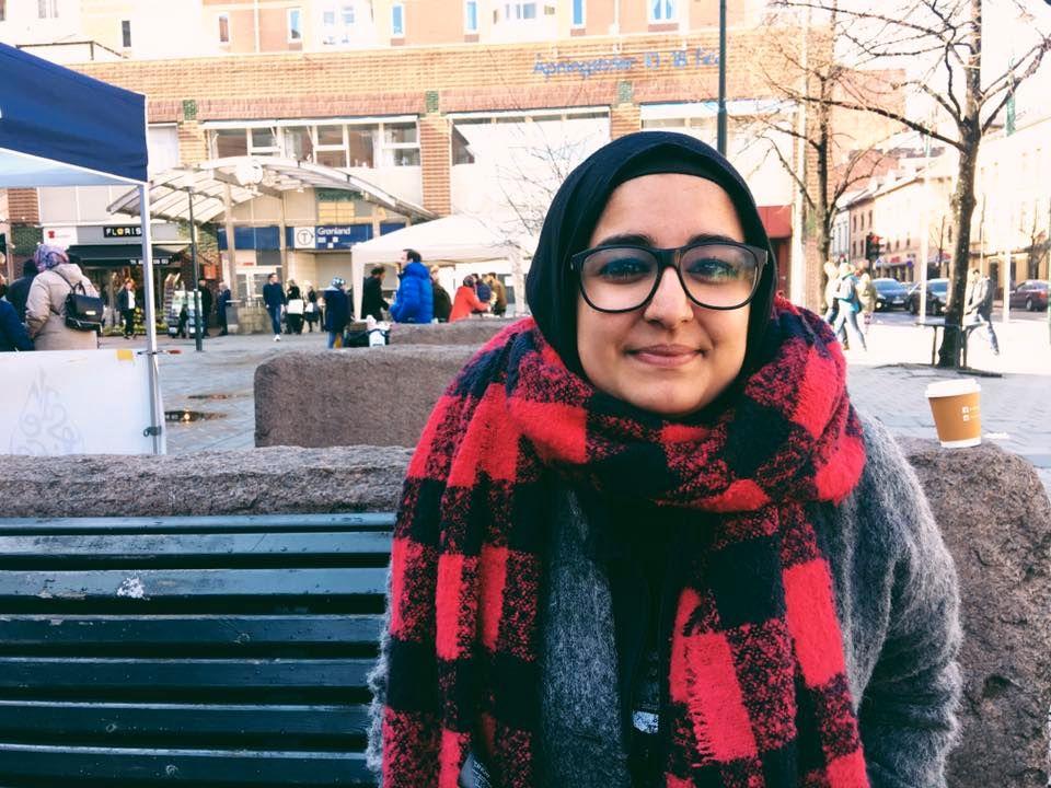 SVARER POLITIET: Fatema Al-Musawi.