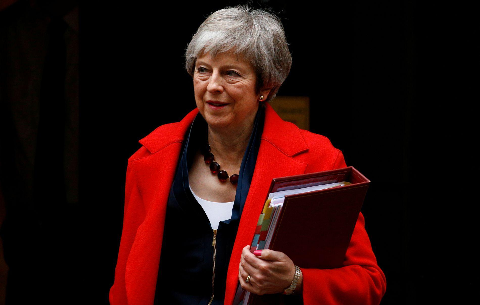 CUNNING PLAN: Få sier de vil stemme for statsminister Theresa Mays Brexit-avtale. Men betyr det nødvendigvis at de vil stemme mot?