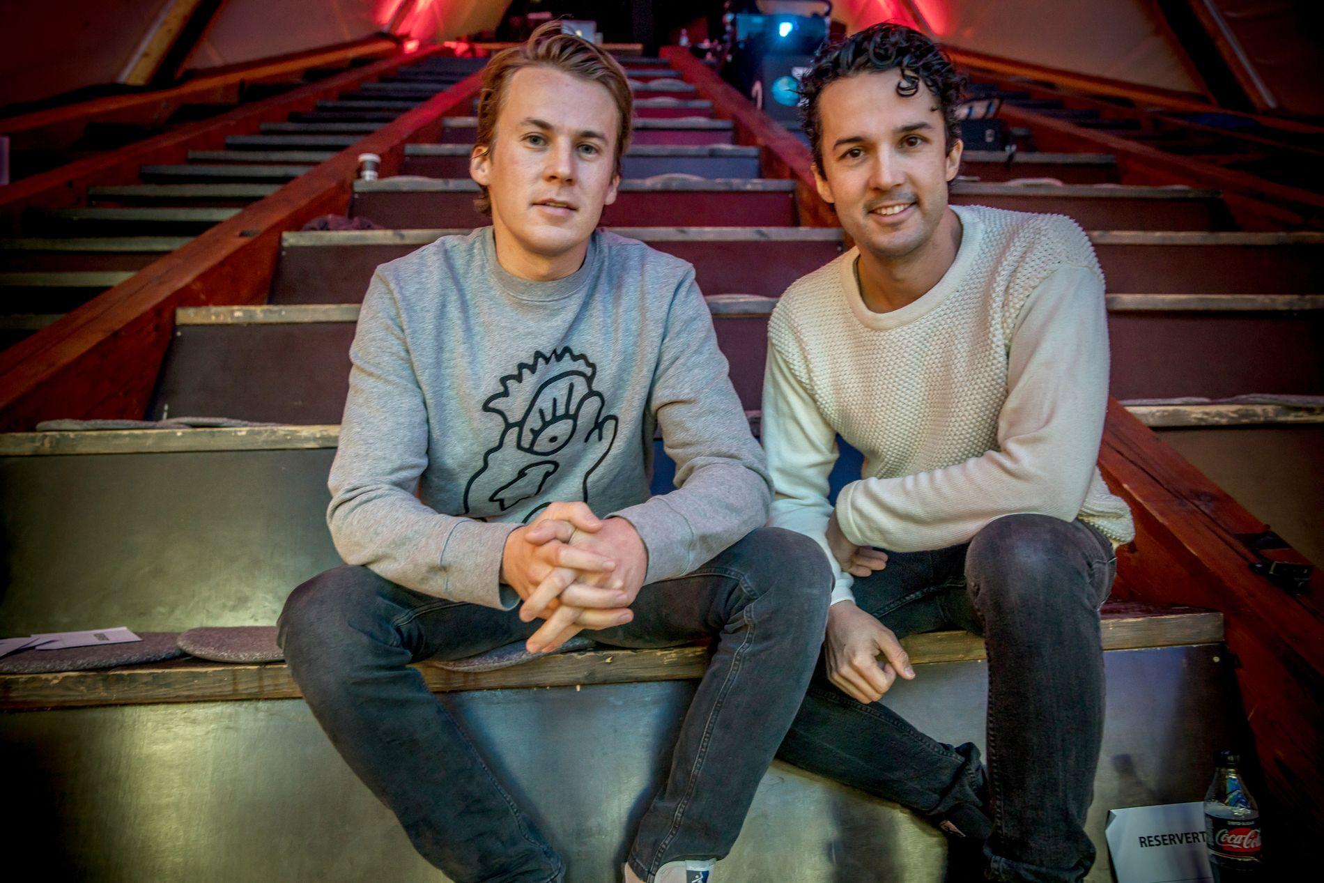 GRAVENDE MUSIKAL: Ylvisbrødrene byr på et helt nytt TV-konsept fra februar.
