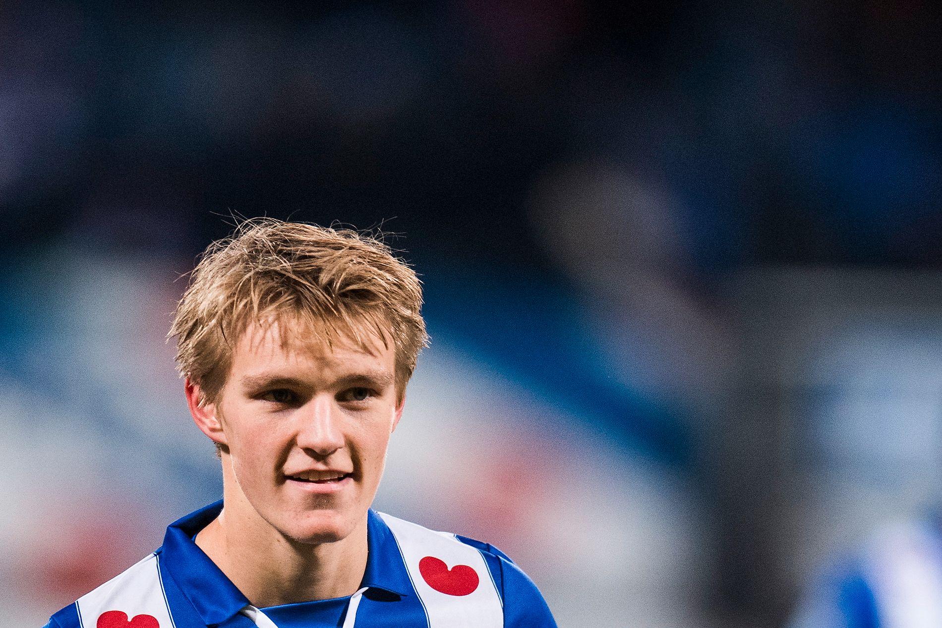 BLIR PÅ U21: Heerenveen-spiller Martin Ødegaard ble vraket på A-landslaget.