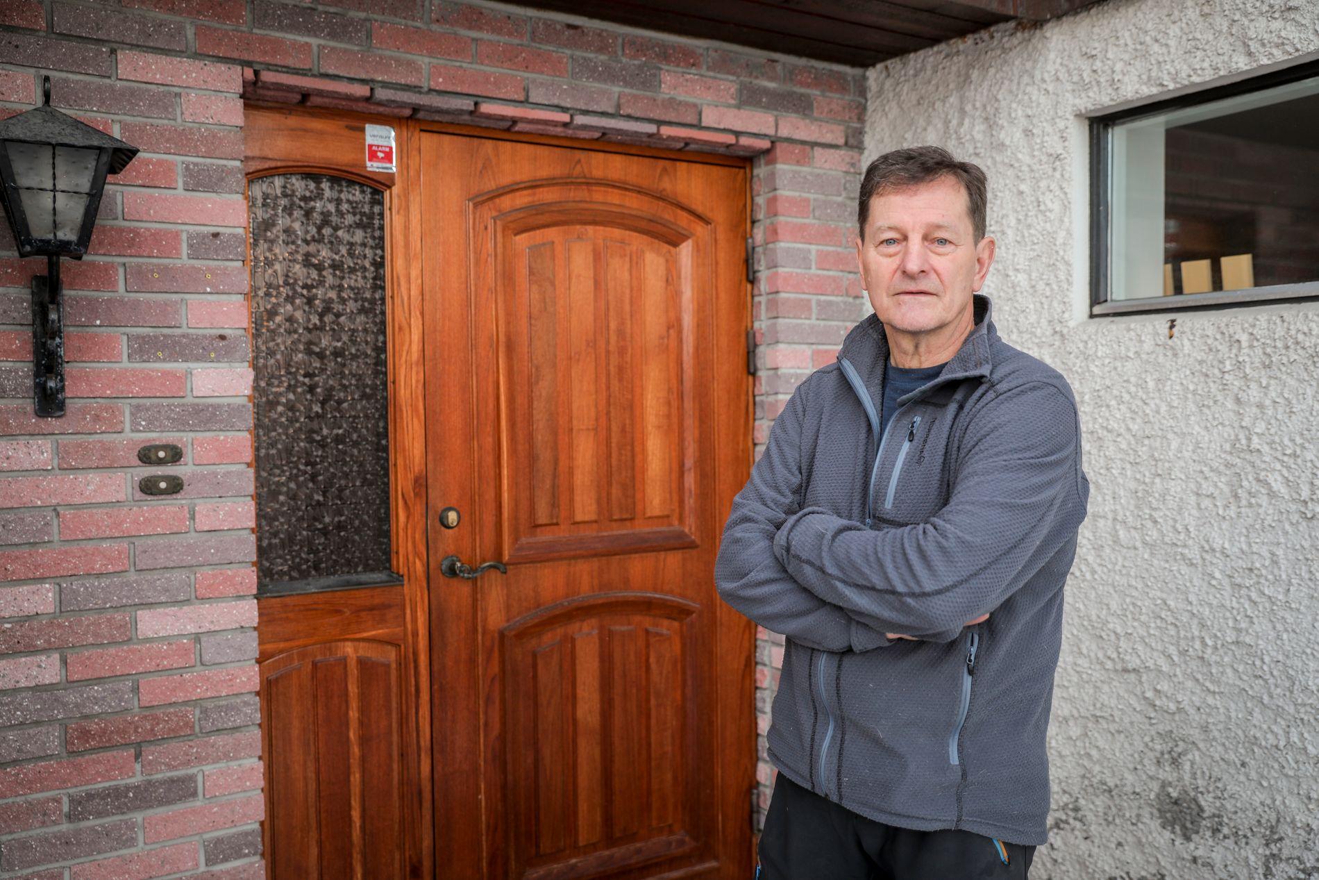 NABO: Rolf Arne Letvik (64) har vært en av ekteparet Hagens nærmeste naboer i flere tiår.