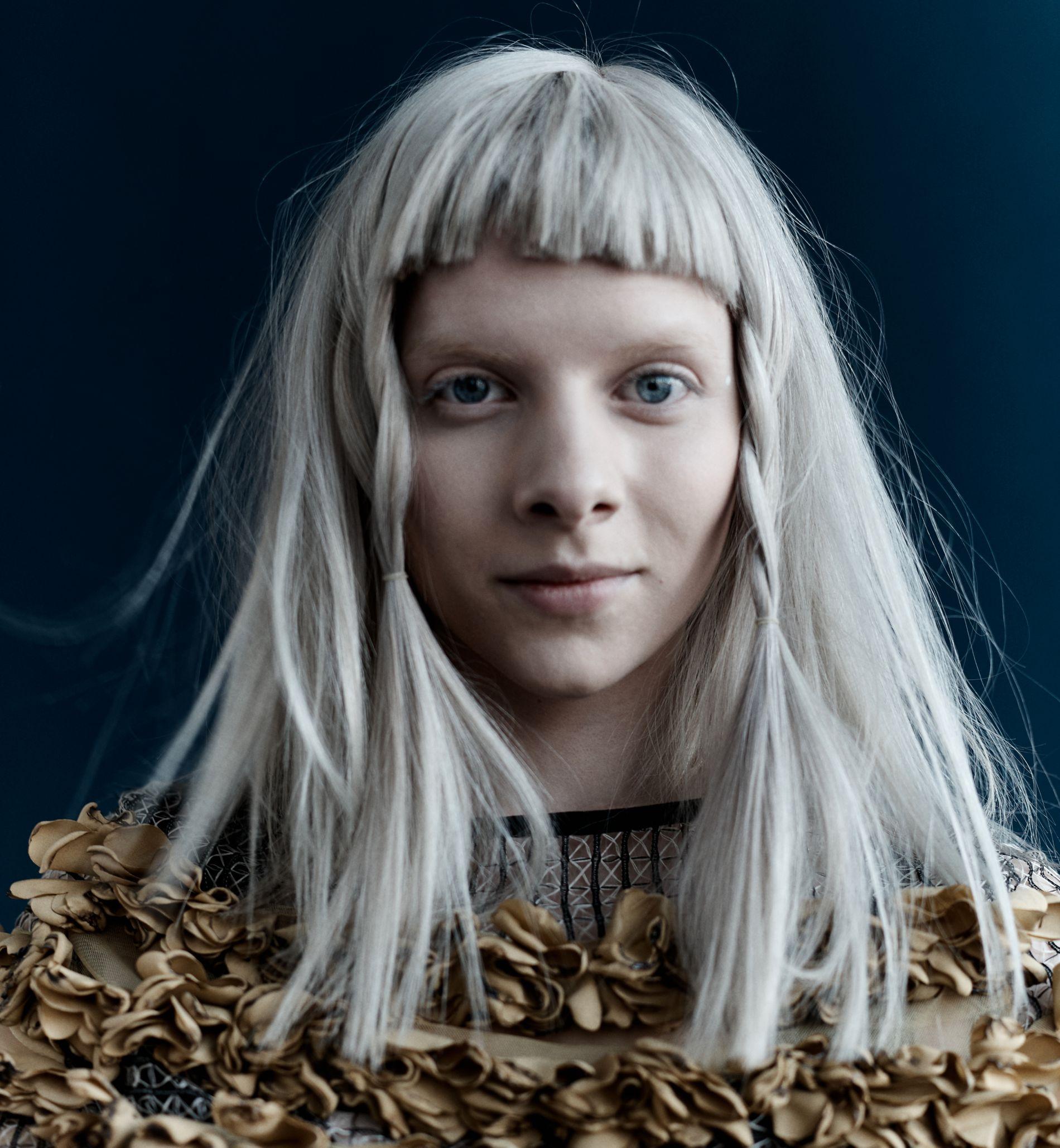 SKAPER DEBATT: Aurora Aksnes.