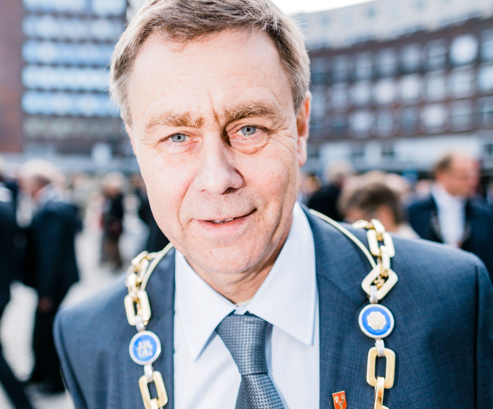 NEDSTEMT ORDFØRER: Bent Inge Bye (Ap) er ordfører i Nedre Eiker kommune, som etter kommunevalget blir sammenslått med Drammen.