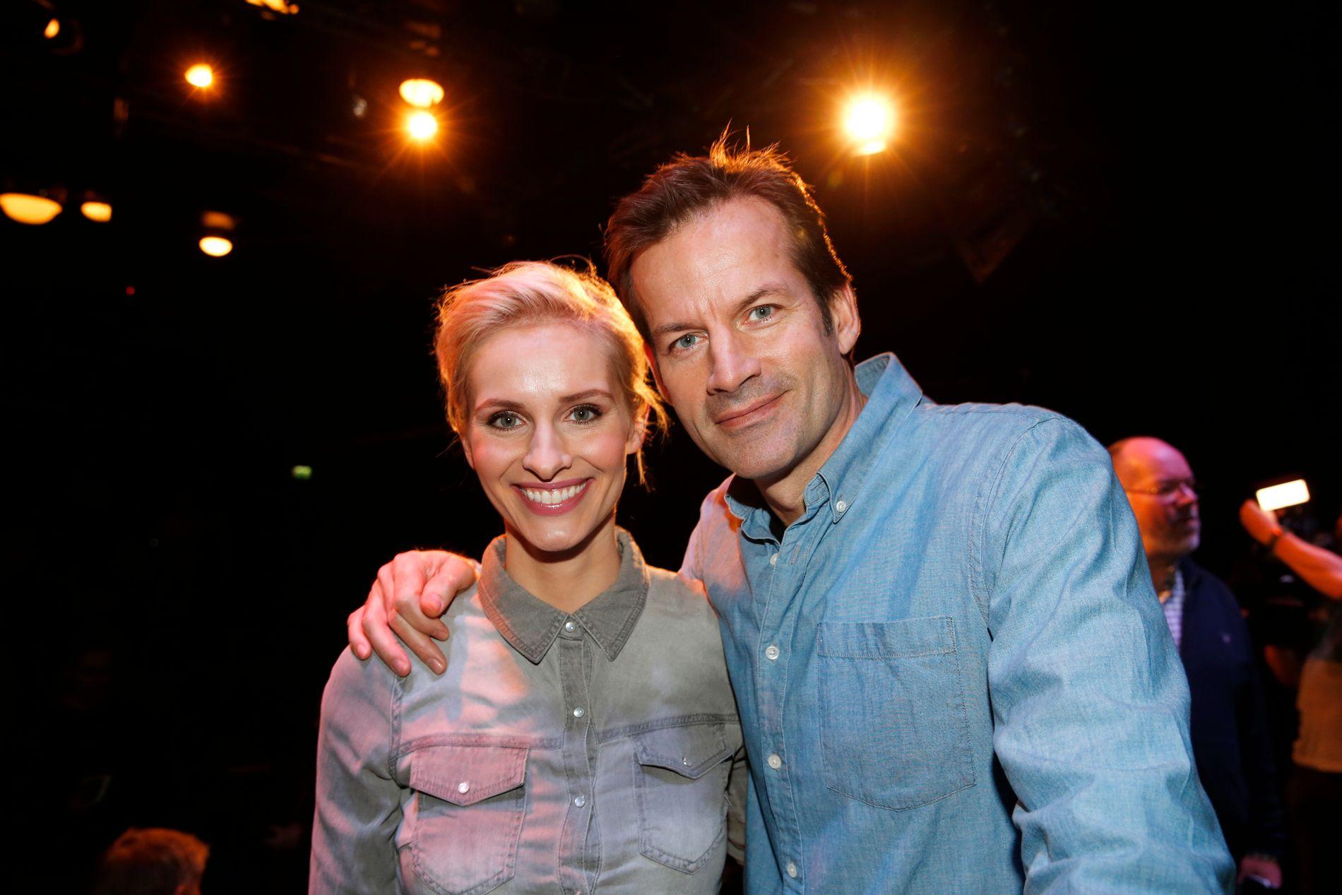FLYTTET TIL TVNORGE: Både Anne Rimmen og Jon Almaas meldte overgang fra NRK til TVNorge i fjor høst.
