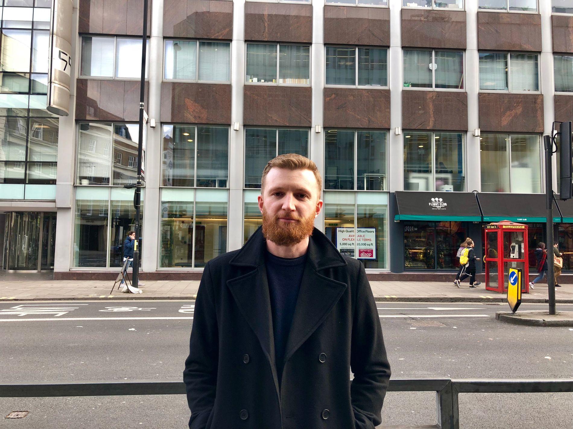 FORVENTET: Rick Esgate (35) jobber selv med markedsføring, og Facebook-skandalen har ikke overrasket han.
