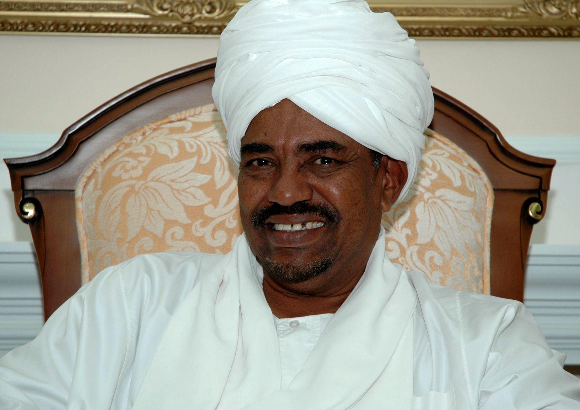 AVSATT: Sudans avsatte president Omar al-Bashir.