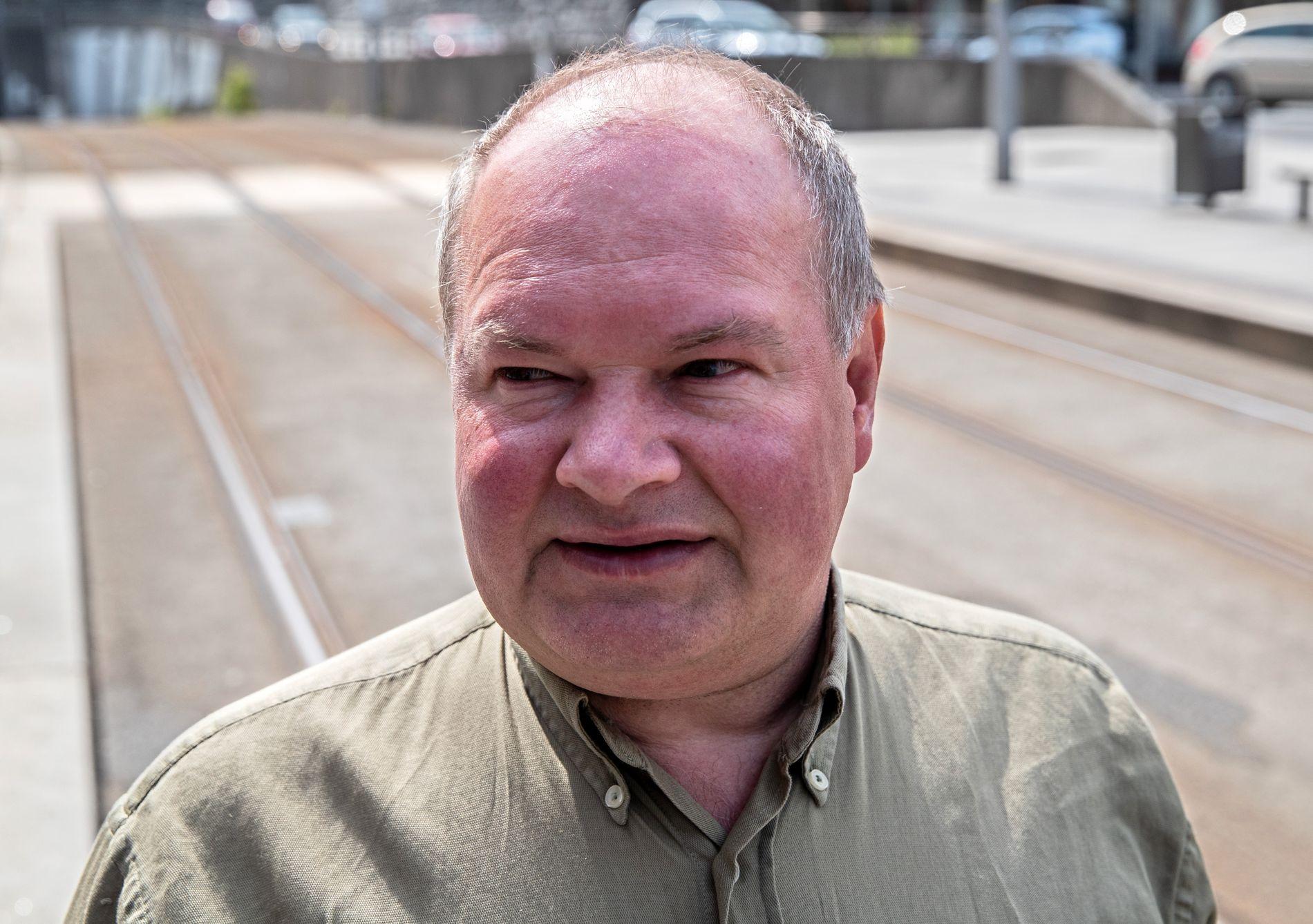 FORNØYD: Trym Aafløy, førstekandidat for Folkeaksjonen nei til mer bompenger i Bergen, har grunn til å smile etter VGs partibarometer.