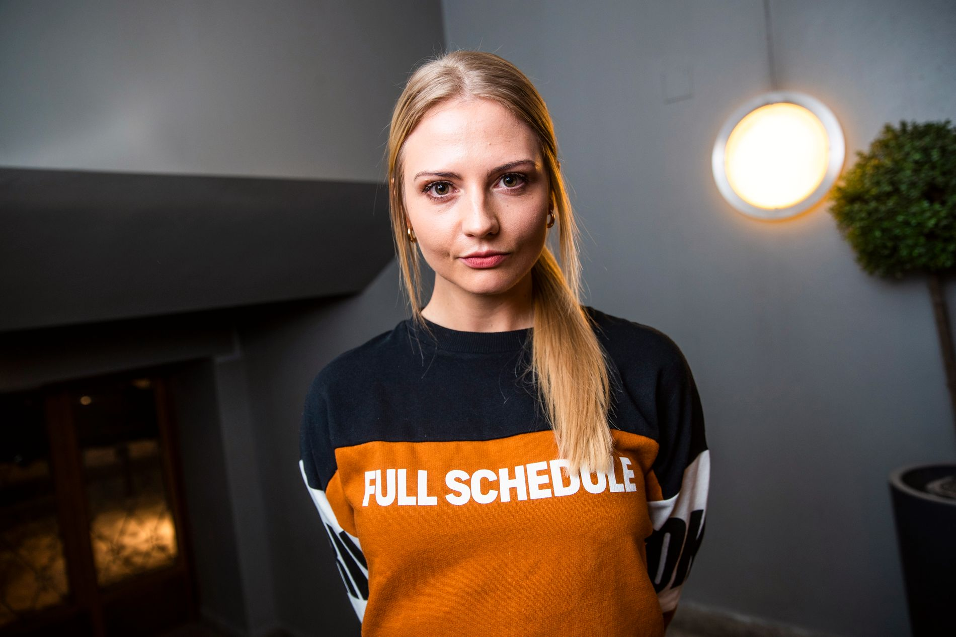 YNGST: Kine Olsen Vedelden er tidenes yngste «Mesternes mester»-deltager, og la på cheerleadingen i 2016.