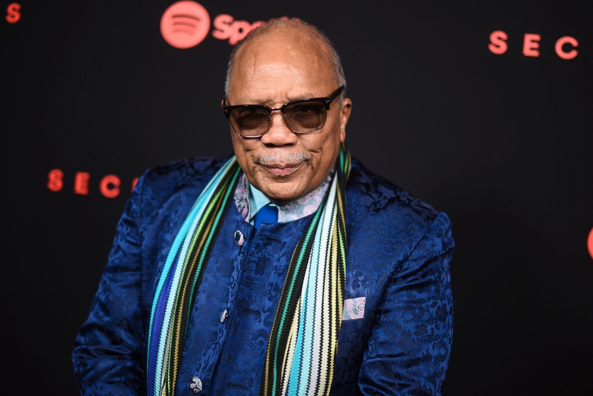 SNAKKER UT: Quincy Jones.
