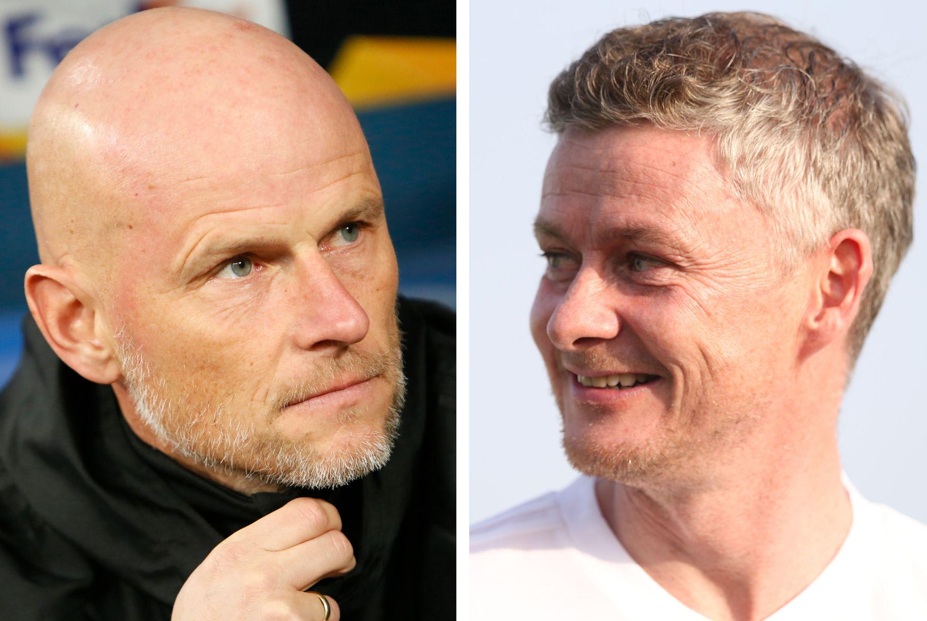 DUBAI-SOL: Ståle Solbakken og Ole Gunnar Solskjær har begge reist på treningsleir til Dubai de siste årene.