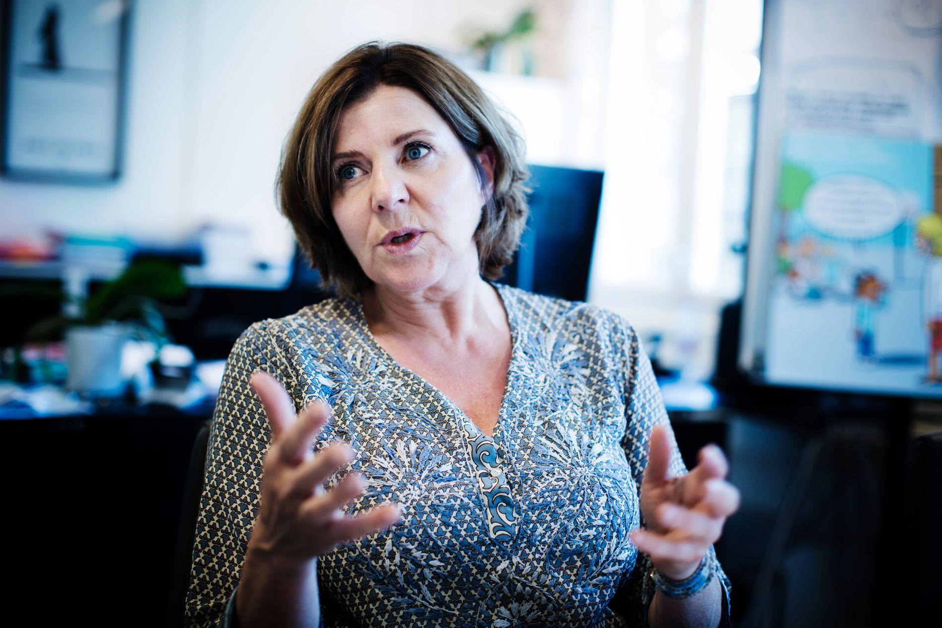 KREVER ET LAVTERSKELTILBUD: Hanne Bjurstrøm mener det er nødvendig med et lavtelskertilbud, slik at ikke de som har blitt utsatt for trakassering bare har alternativet om å ta saken til domstolen.