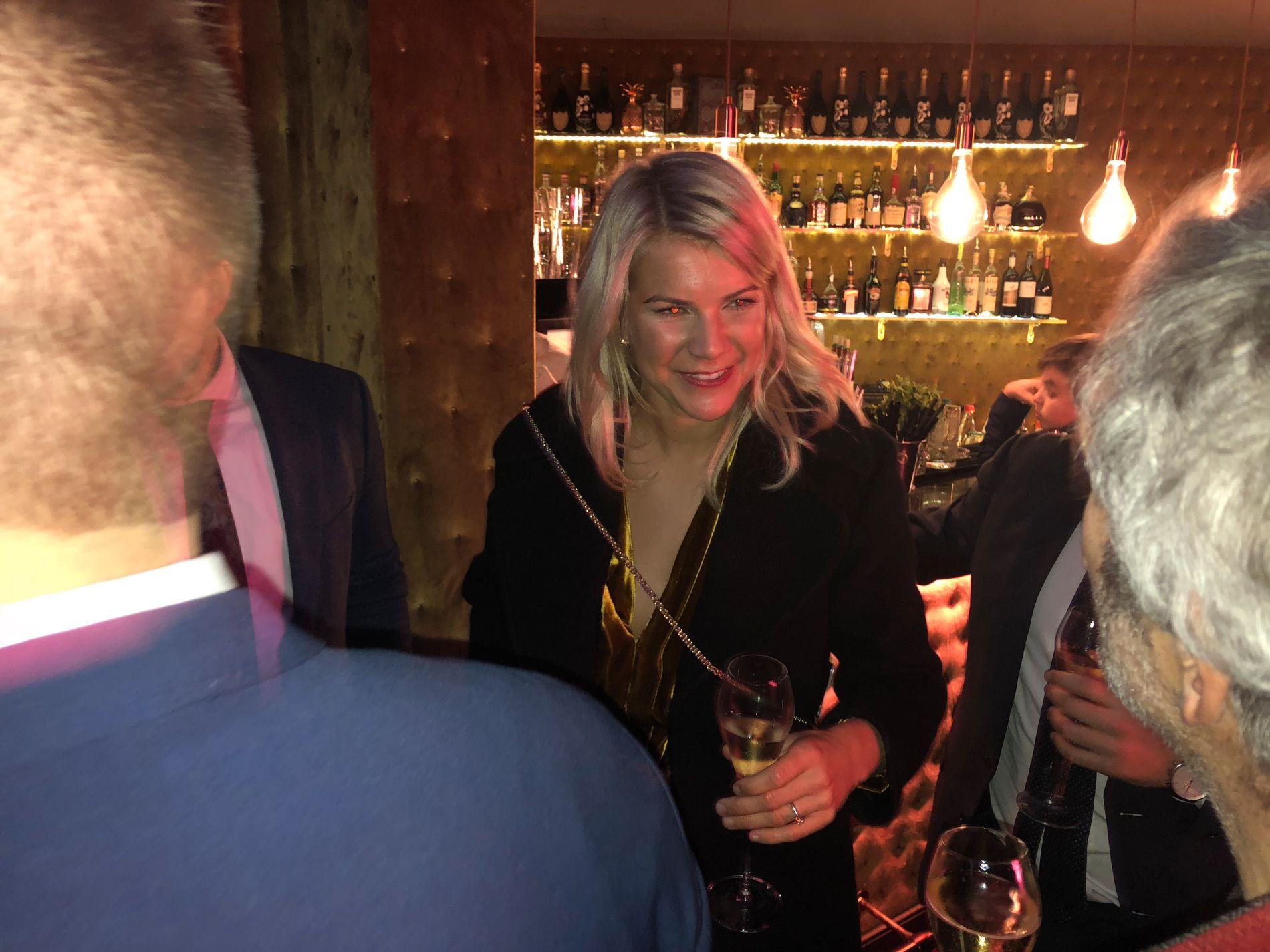 SISTE STOPP: Ada Hegerberg feiret med familien og sine nærmeste på et femstjernershotell i Paris.