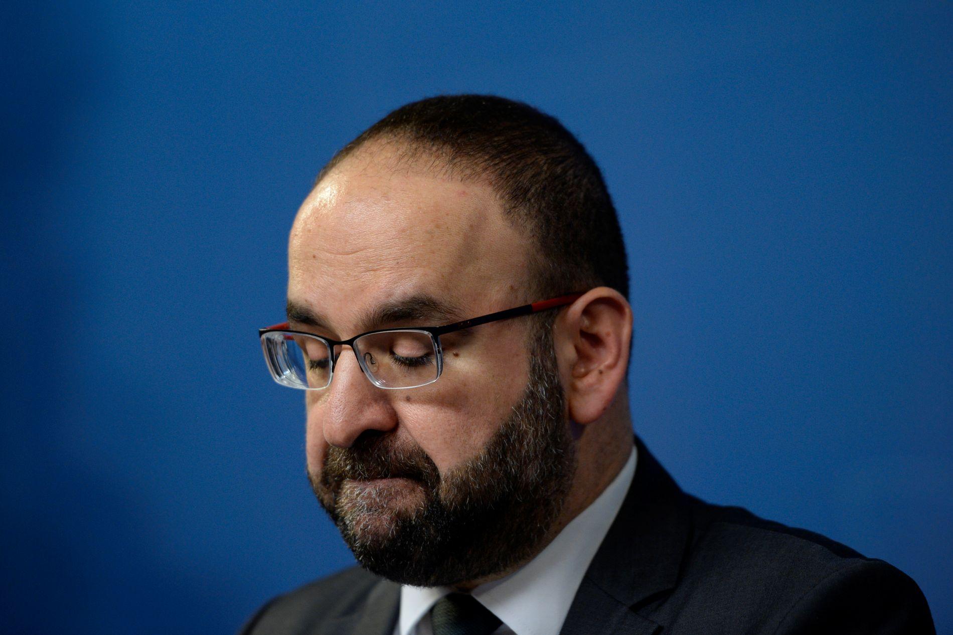 TRAKK SEG: Den skandaleomsuste boligministeren fra Miljöpartiet, Mehmet Kaplan, trakk seg denne uken i lys av skandalene rundt hans person.