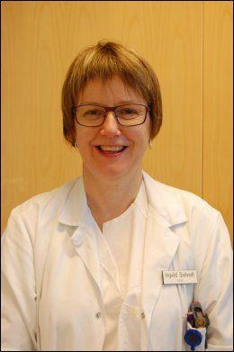 INTERESSANT: Overlege Ingunn Saltvedt ved Seksjon for geriatri ved St. Olavs hospital. Foto: PRIVAT