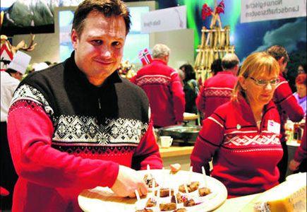 Sultne på norsk matkultur